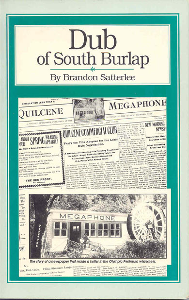 Dub of South Burlap | Quilcene Historical Museum